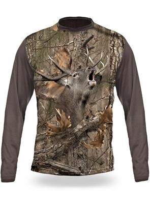 تصویر تی شرت هیلمن آستین بلند  گوزن