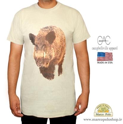 تصویر تی شرت آمریکایی طرح گراز