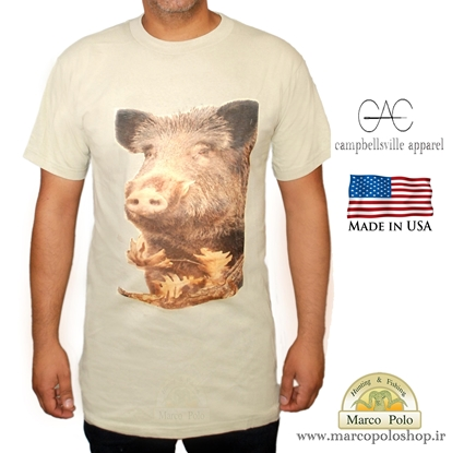 تصویر تی شرت آمریکایی طرح گراز.